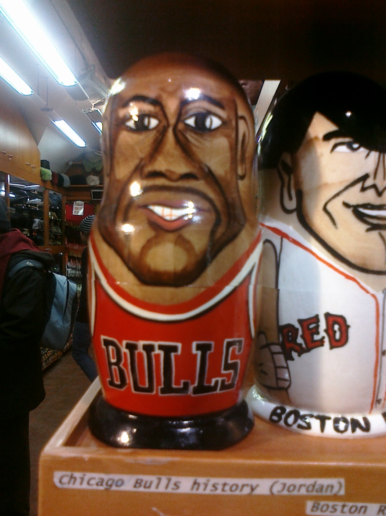 Michael Jordan matryoshka doll
