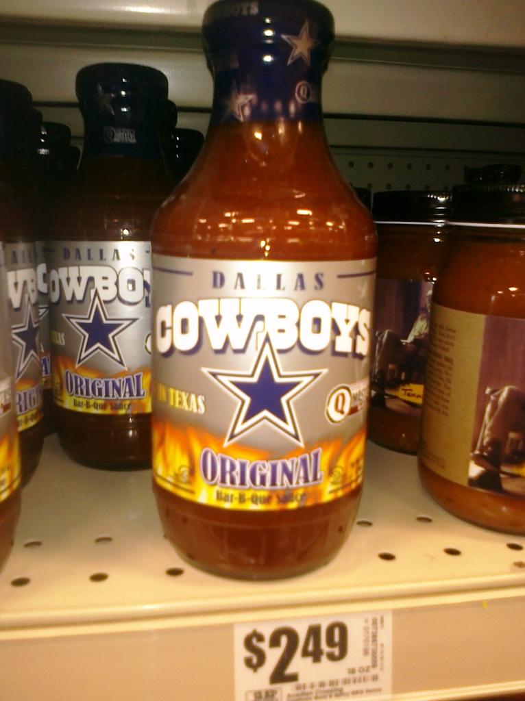 Dallas Cowboys BBQ sauce