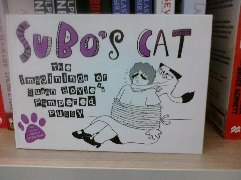Susan Boyle's Cat