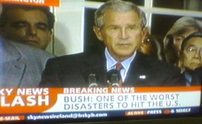 Bush on news
