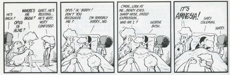 Bloom County Comic