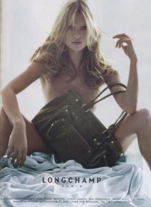 Longchamp purse ad