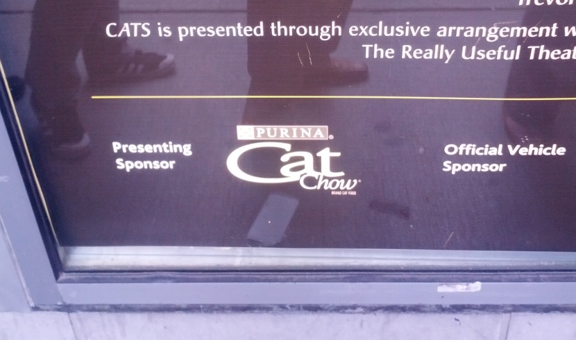 Cat Chow sponsoring Cats