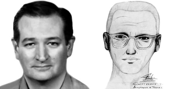 Ted Crus, Zodiac killer sketch