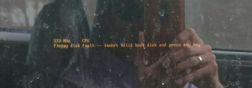Floppy disk fault