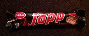 Japp candy bar