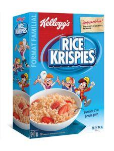 Rice Krispies, Canada