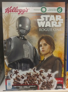 Rogue One cereal