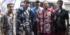 Men cousins in their Bali uniform