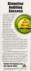 Dianetics flyer, back